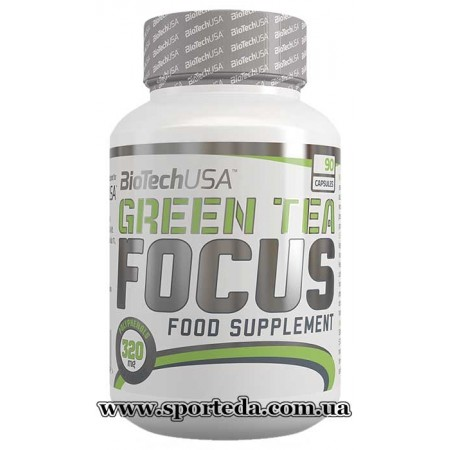 BioTech USA Green Tea Focus