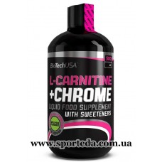 BioTech USA L-Carnitine Chrome