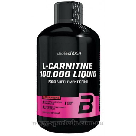 BioTech USA L-Carnitine 100.000 Liquid