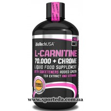 BioTech USA L-carnitine Chrome 70000