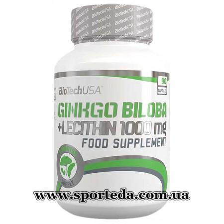 Biotech USA Ginkgo Biloba Lecithin