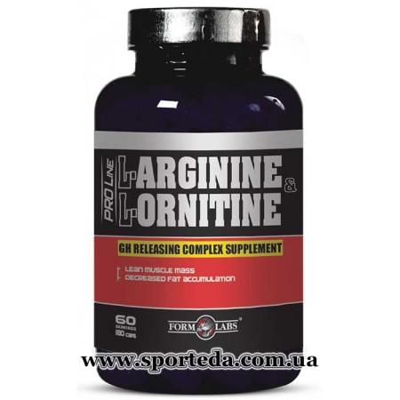 Form Labs L-Arginine, L-Ornithine