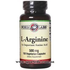 Form Labs L-Arginine 500