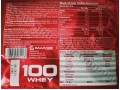 Galvanize Chrome 100 Whey лейбл