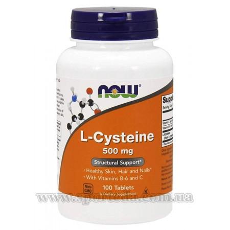 Now L-Cysteine