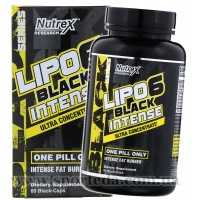 Nutrex Lipo 6 Black Intense
