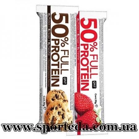 QNT 50% Full Protein Bar