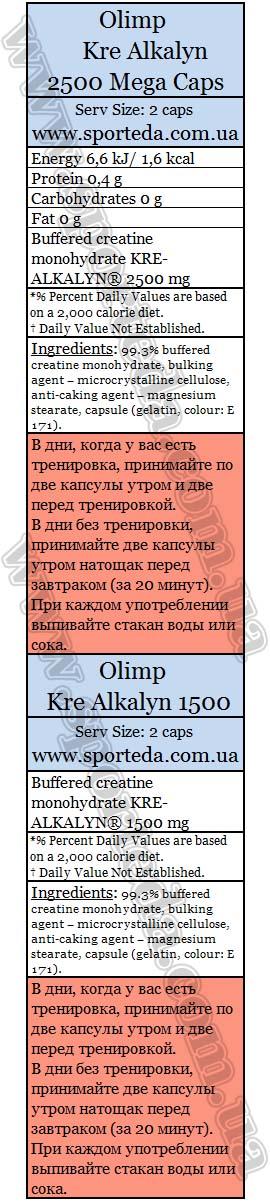 Креалкалин Олимп нутришн