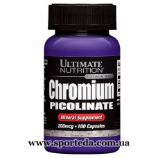 Ultimate Nutrition Chromium Picolinate