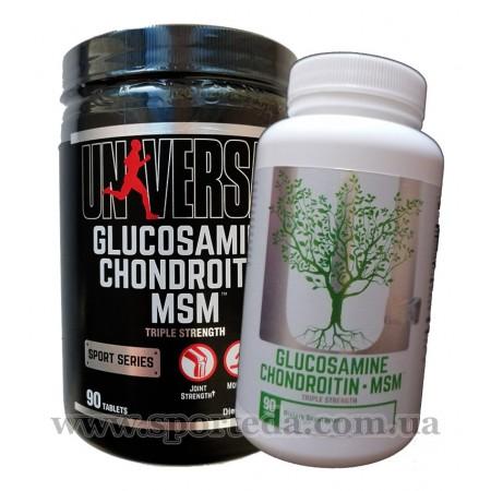 Universal Nutrition Glucosamine Chondroitin MSM