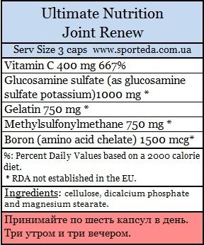 Комплекс для лечения суставов Joint Renew
