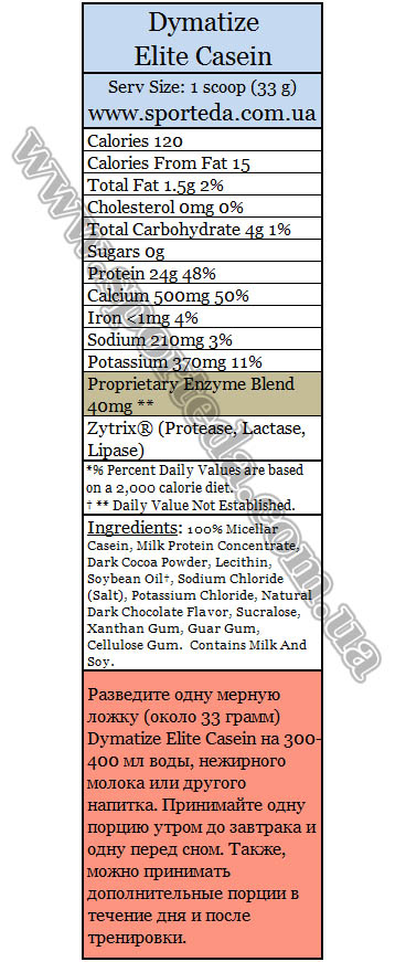 Казеиновый протеин Диматайз