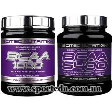 Scitec Nutrition BCAA 1000/ 6400