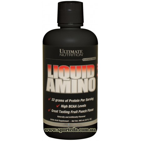 Ultimate Nutrition Liquid Amino