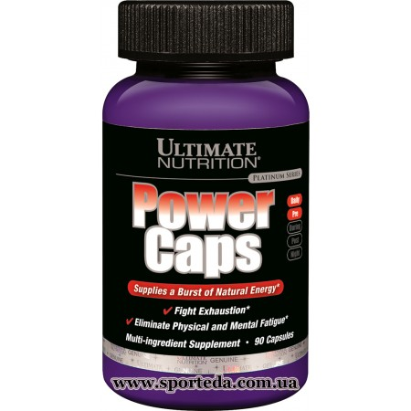 Ultimate Nutrition Power Caps