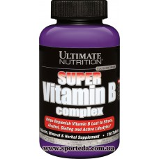Ultimate Nutrition Super Vitamin B Complex