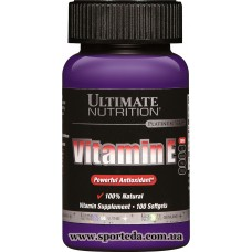 Ultimate Nutrition Vitamin E