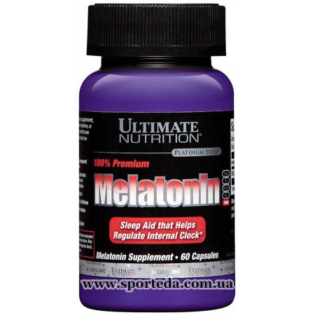 Ultimate Nutrition Melatonin